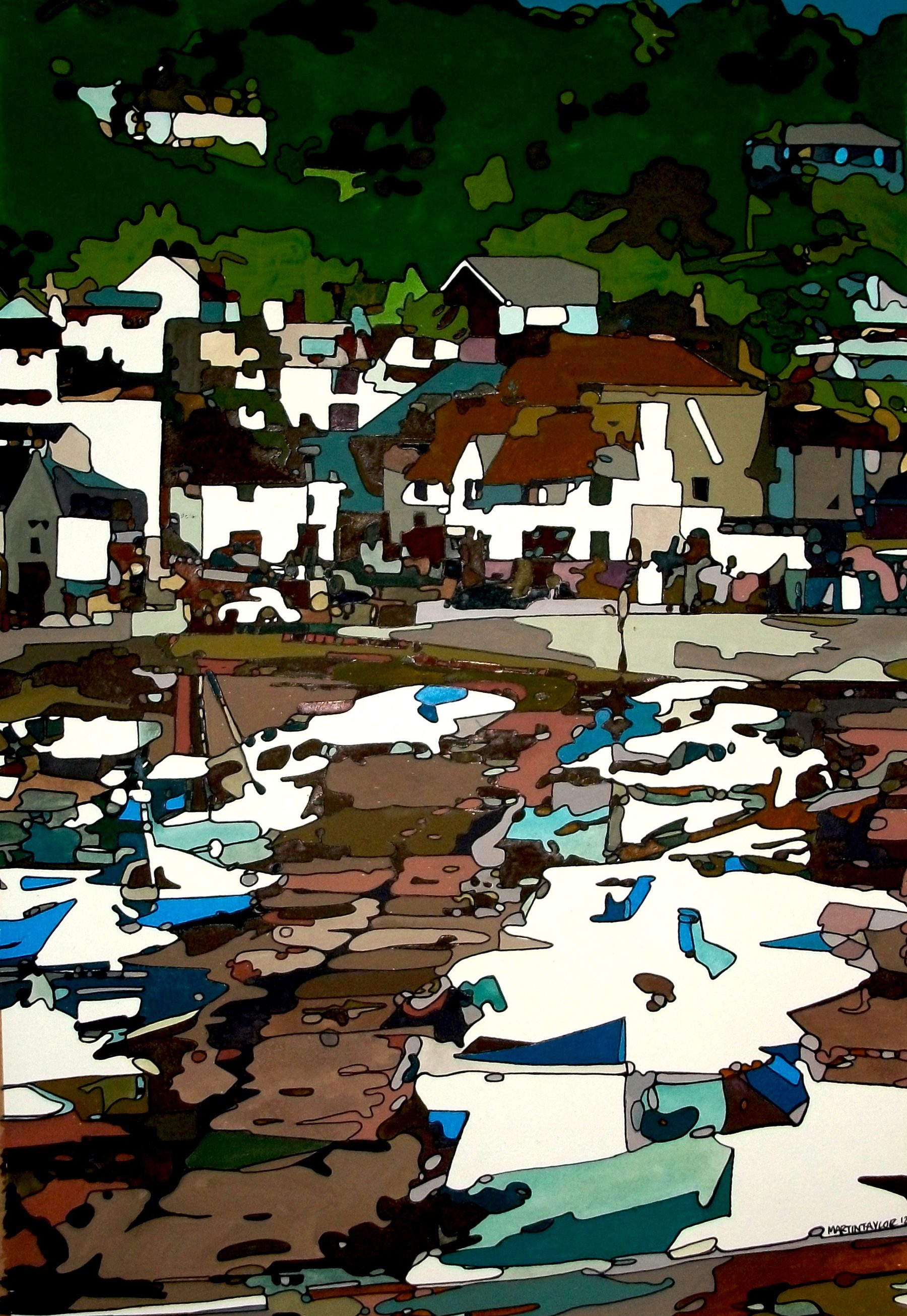 Lyme Regis original artwork
